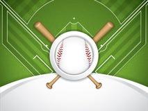 Baseball brochure Stock Photo