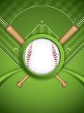 Baseball brochure Royalty Free Stock Photography