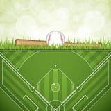 Baseball brochure Royalty Free Stock Photos