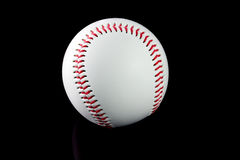 Baseball with brown background Royalty Free Stock Photo