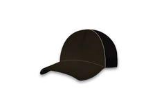 Baseball brown cap Stock Photo
