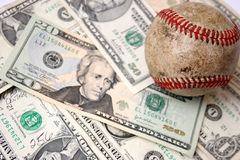 Baseball business Stock Image