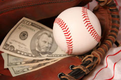 Baseball business Royalty Free Stock Photos