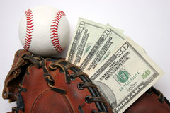 Baseball business Royalty Free Stock Image