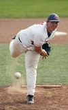 Baseball canada cup pitcher ball Royalty Free Stock Photo