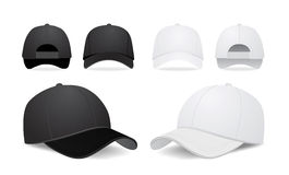 Baseball cap royalty free illustration