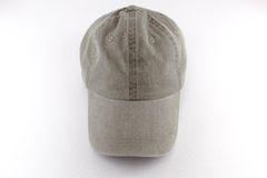 Baseball cap. The only fabric baseball cap Stock Images