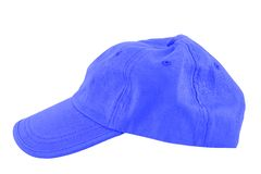Baseball cap. Isolated on the white royalty free stock photo