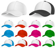 Baseball Cap, Clothing and Accessories, Headwear, Sport. Vector Illustration of Baseball Caps. Best for Clothing, Design Element, Sport concept Vector Illustration