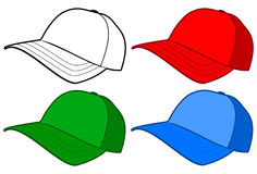 Baseball cap or hat Stock Images
