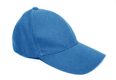 Baseball cap isolated on a white stock images