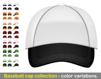 Baseball cap mega collection Stock Photos