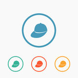 Baseball cap - Vector icon isolated Stock Images