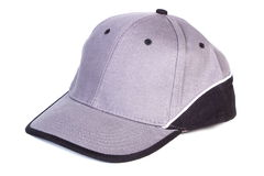 Baseball cap on white background, protection from sun Stock Image