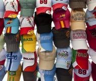 Baseball caps Royalty Free Stock Image