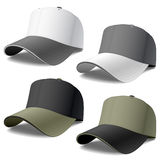 Baseball Caps Royalty Free Stock Image