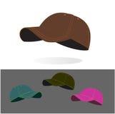 Baseball caps collection Stock Image