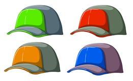 Baseball caps Stock Image