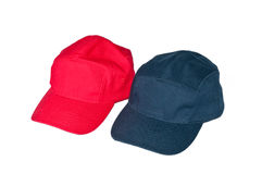 Baseball caps. On white background Royalty Free Stock Photos