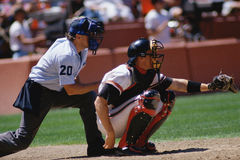 Baseball catcher Stock Photography