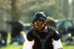 Baseball - catcher. Baseball catcher Royalty Free Stock Photography