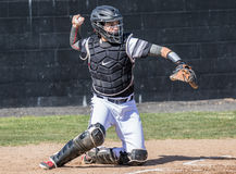 Baseball Catcher Royalty Free Stock Images