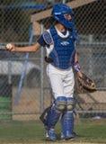 Baseball Catcher Royalty Free Stock Photography