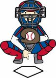 Baseball Catcher Stock Photos