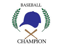 Baseball Champion 4 Royalty Free Stock Images