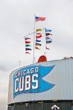 baseball chicago Royaltyfri Foto
