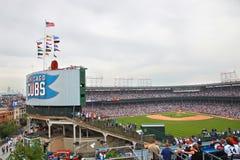 baseball chicago Royaltyfria Bilder