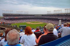 baseball chicago Royaltyfria Foton