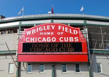 baseball chicago Royaltyfria Foton