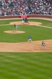 baseball chicago Arkivbild