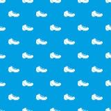 Baseball cleat pattern seamless blue Stock Image