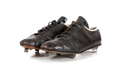 Baseball cleats on a white Stock Image
