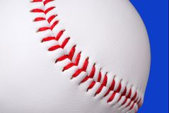 Baseball close-up Stock Images