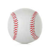 Baseball close up on white background Royalty Free Stock Photography