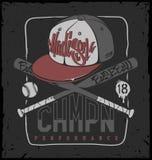 Baseball club, vector print for sportswear