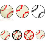 Baseball collection Royalty Free Stock Images