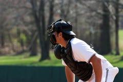 Baseball - ricevitore immagini stock