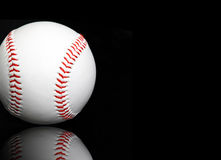 Baseball Copy Space Royalty Free Stock Images