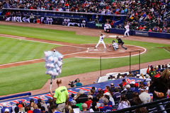 Baseball - Cotton Candy Vendor at the Ball Park Stock Photography