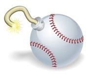 Free Baseball Countdown Bomb Illustration Royalty Free Stock Images - 19914569