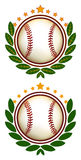 Baseball Crest Illustration. This is a logo illustration that can be used for any baseball and softball teams or leagues. It is a clean crisp example of a more stock illustration