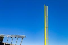 Baseball cuchnącej piłki słup obrazy royalty free