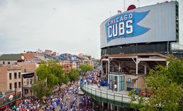 Baseball del Chicago Fotografie Stock
