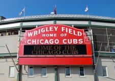 Baseball del Chicago Fotografie Stock Libere da Diritti