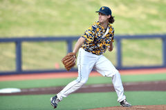 2015 baseball del NCAA - TCU @ WVU Fotografia Stock Libera da Diritti
