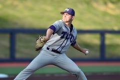 2015 baseball del NCAA - WVU-TCU Fotografia Stock
